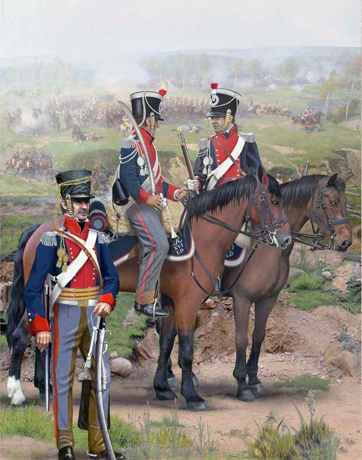 British; 16th Queen's Regiment of Light Dragoons c.1814