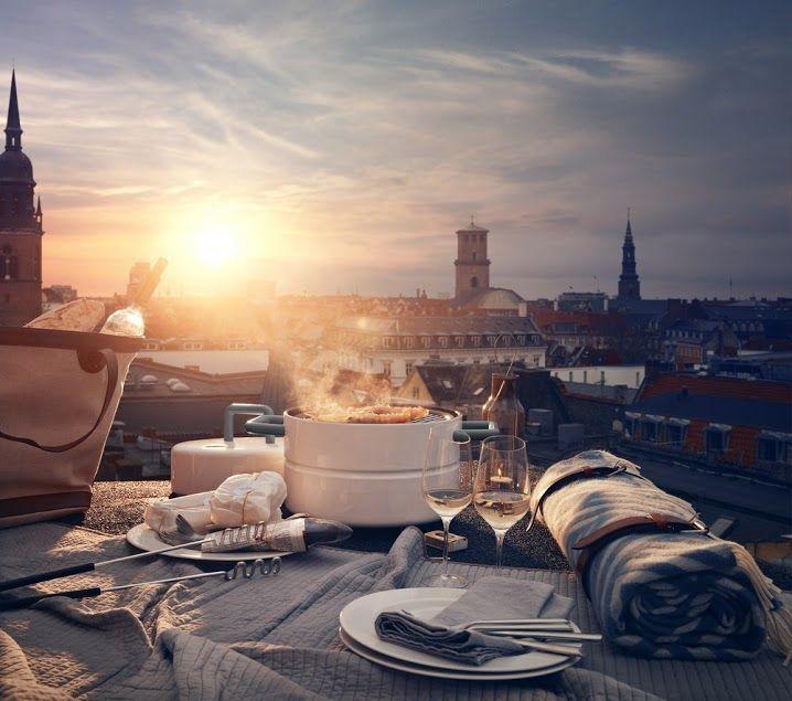 Diner in de buitenlucht | An outdoor dinner party | Eva Solo