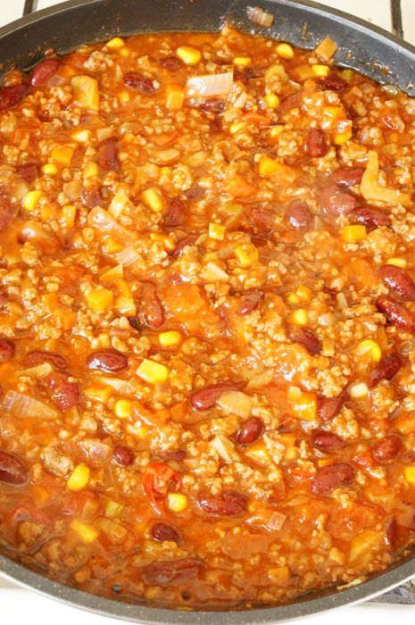 Чили корн карне, мексиканская кухня, пошаговый фото рецепт, кулинарный блог