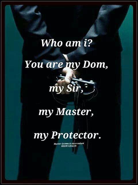 My Sir, My Protector, My Daddy ♥… bdsm master slave via pinterest