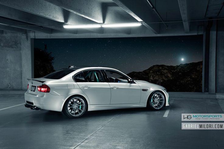 #BMW #E90 #M3 #Sedan #White #Angel