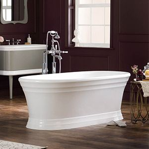 Marvelous Worcester Bathtub By Victoria And Albert