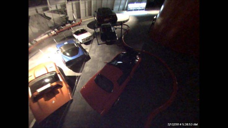 Corvette Museum Sinkhole Collapse - Security Footage Video 2