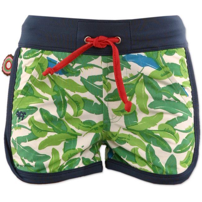 Knotsknetter - 4funkyflavours zwembroek Nature Boy - Jongenskleding