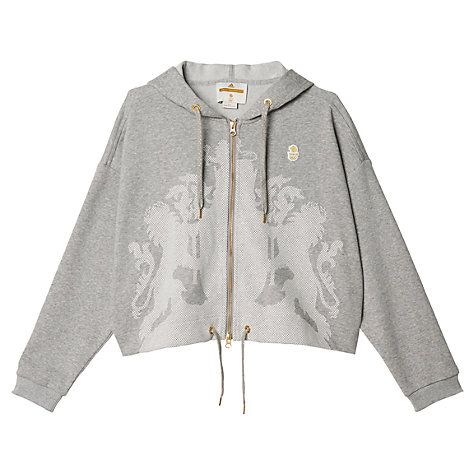 Buy Adidas Stella McCartney Team GB Women's Hoodie, Grey Online at johnlewis.com