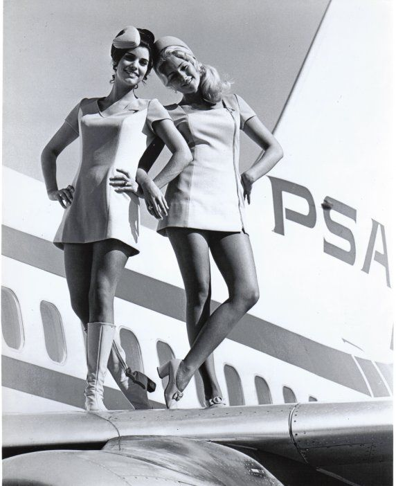 There was something in the air in the early years of aviation.       Perhaps more glamorous stewardesses..