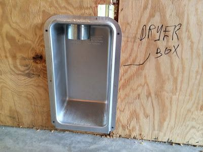 Cheap Trick - Recessed Dryer Box Model 425 Review - Fine Homebuilding