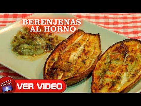 Berenjenas Al Horno Receta Facil De Maru Botana Sanas Ricas Y Naturales Youtube Recetas Faciles Berenjena Al Horno Maru Botana