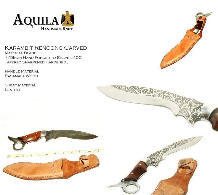 Karambit Rencong Carved