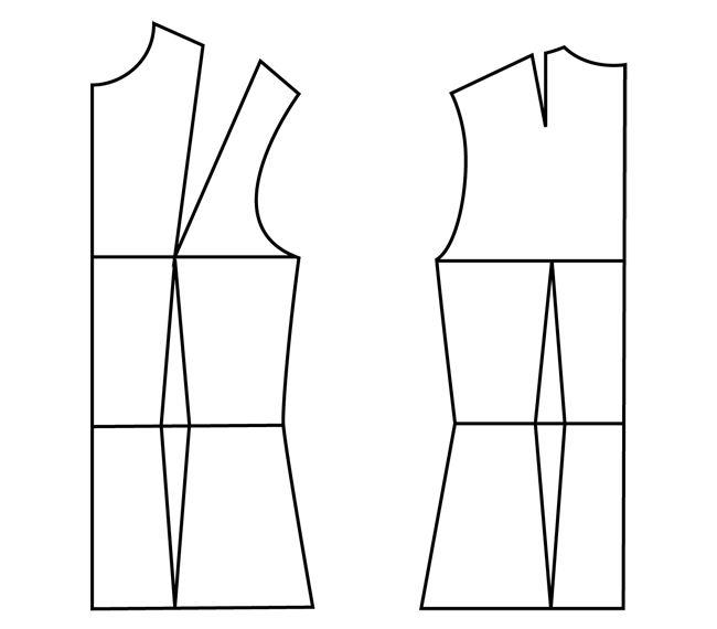 yo elijo coser: Cómo interpretar y dibujar un patrón chino gratuito