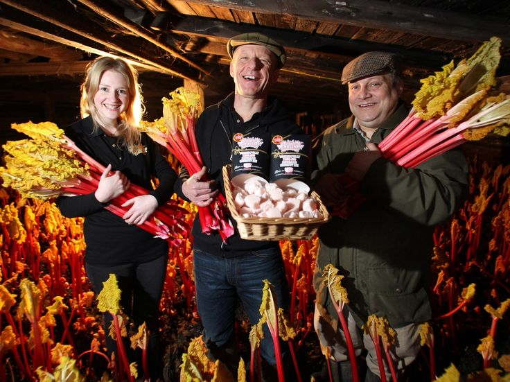 A visit to D Westwood & Sons to celebrate our Yorkshire/Wakefield rhubarb coconut ice