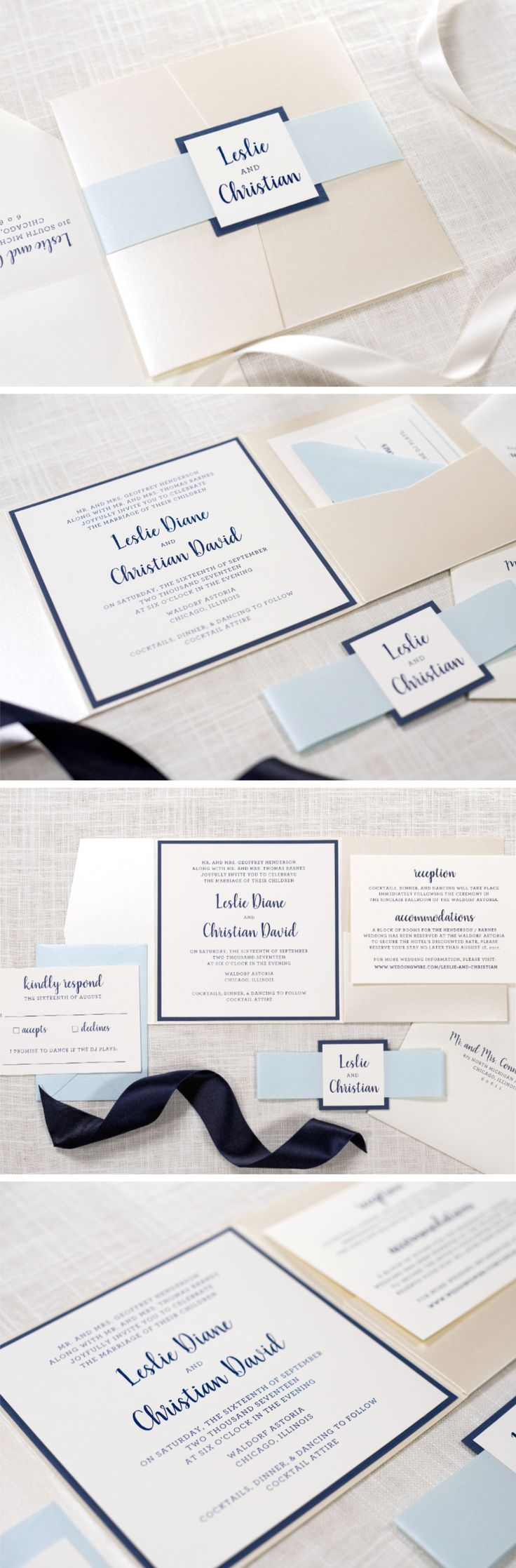 101 Best Chicago Wedding Invitations Images On Pinterest