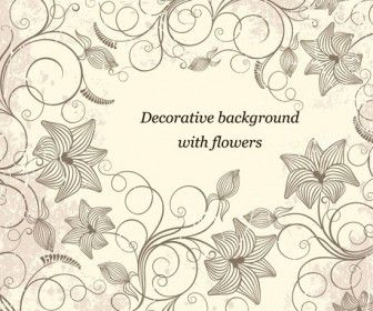 Flowers Decorative Background  http://vectorspedia.com/free-vector/flowers-decorative-background-7731/