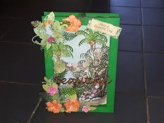 Dennyscraft : Tropical themed MDF 3D picture box