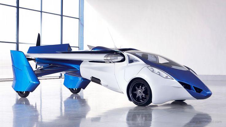 AeroMobil : le troisième prototype fonctionnel de la voiture volante