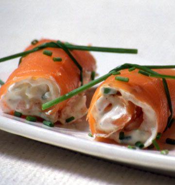 Roulés de saumon fumé – Noël - Ôdélices : Recettes de cuisine faciles et originales !