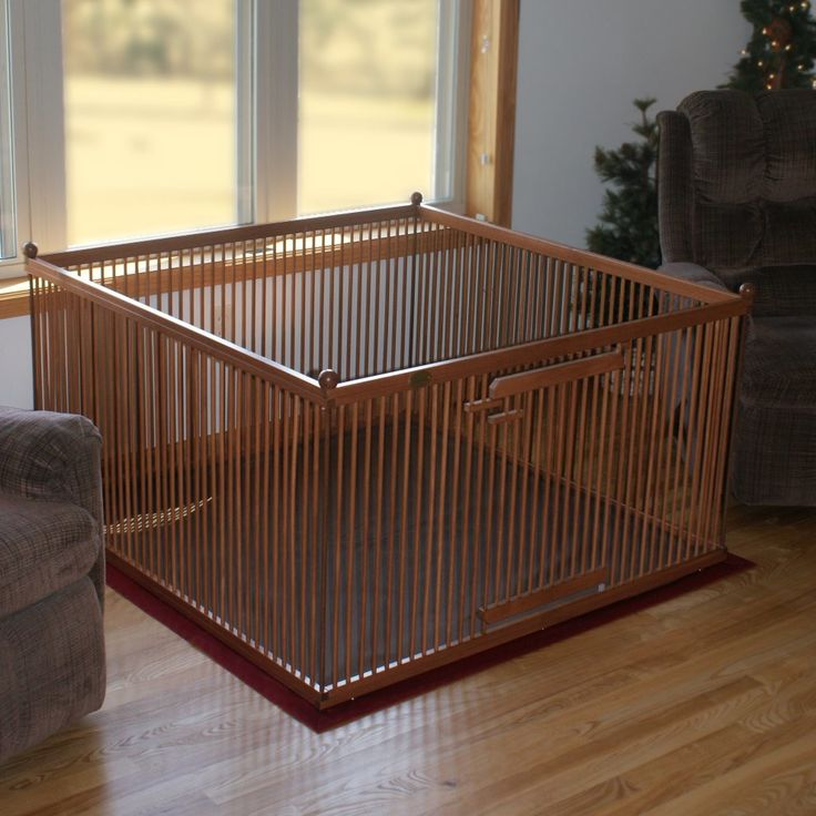 "Pupperton 26"" Maple Left Hinged Pet Pen"