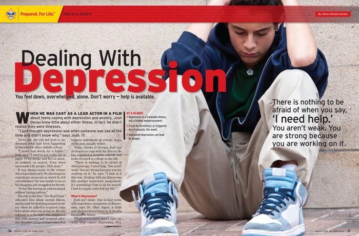 dealing depression
