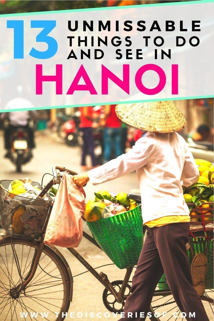 Hanoi rocks! 13 awesome things to do in Hanoi, Vietnam to help you plan your trips. Shopping, exploring the Old Quarter, restaurants, street food - everything you need to know for the perfect Hanoi itinerary. Read now. #travel #vietnam #backpacking