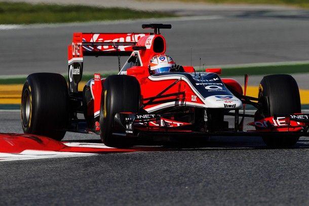 Virgin Marussia VR 02 - Cosworth