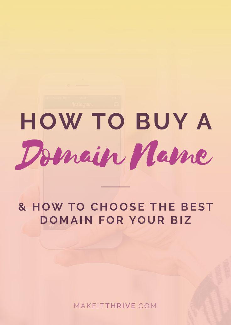 how to buy a domain name, domain name tips, domain name ideas, start a blog