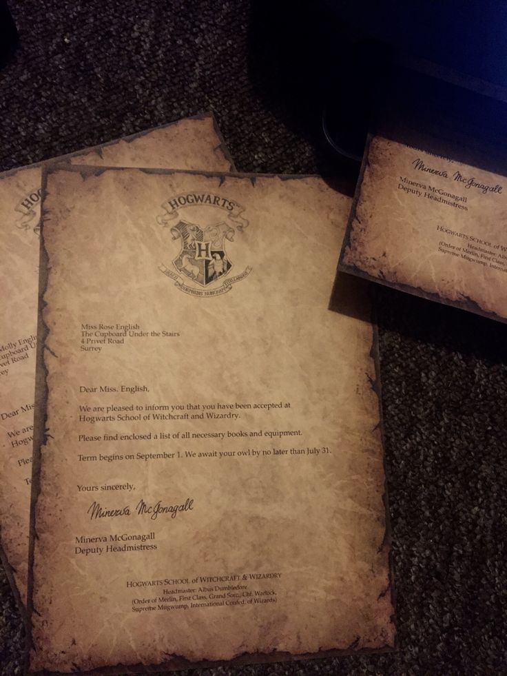 Harry Potter Printables  for a surprise trip to Warner Brothers Studios