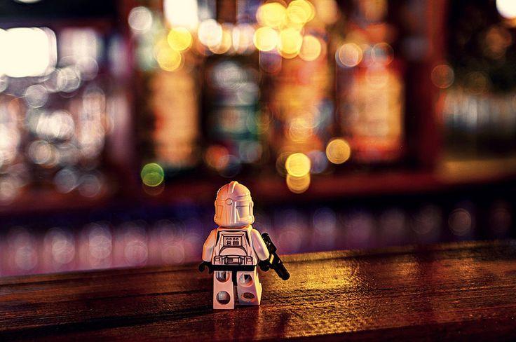 A stormtrooper walks into a bar...