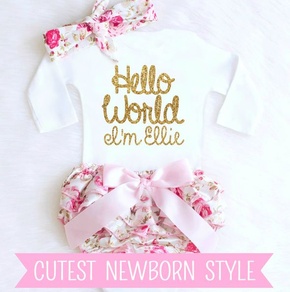 Best 25 newborn girl gifts ideas on pinterest newborn baby girl girls boutique apparel featuring the cutest personalized baby girl clothes birthday tutu outfits couture negle Gallery