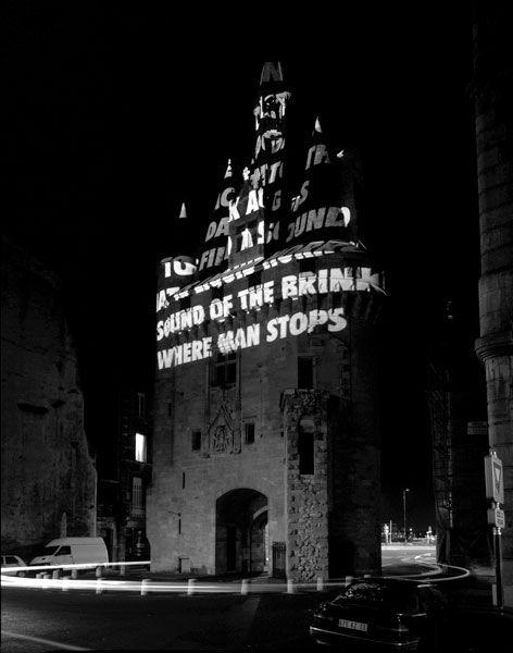 Jenny Holzer - Projections.