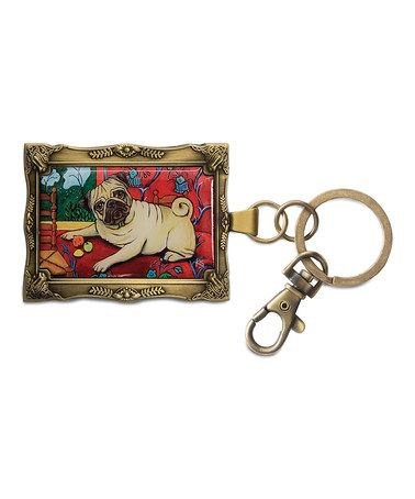 Take a look at this Pug Muttisse Key Chain by Pavilion Gift Company on #zulily today!