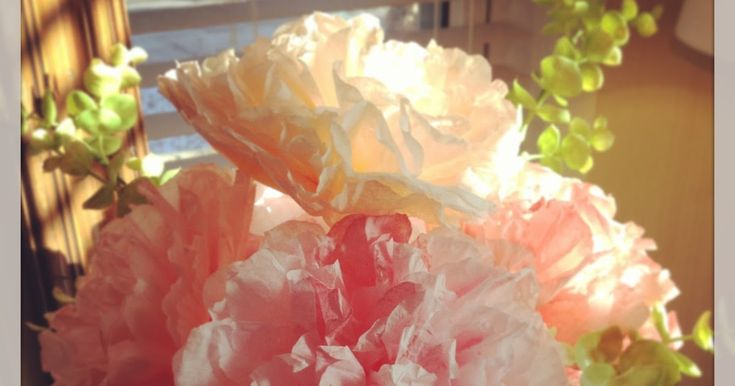 Before we get started, I just want to say that I most certainly did NOT invent this method of making paper flowers. I came across a ...