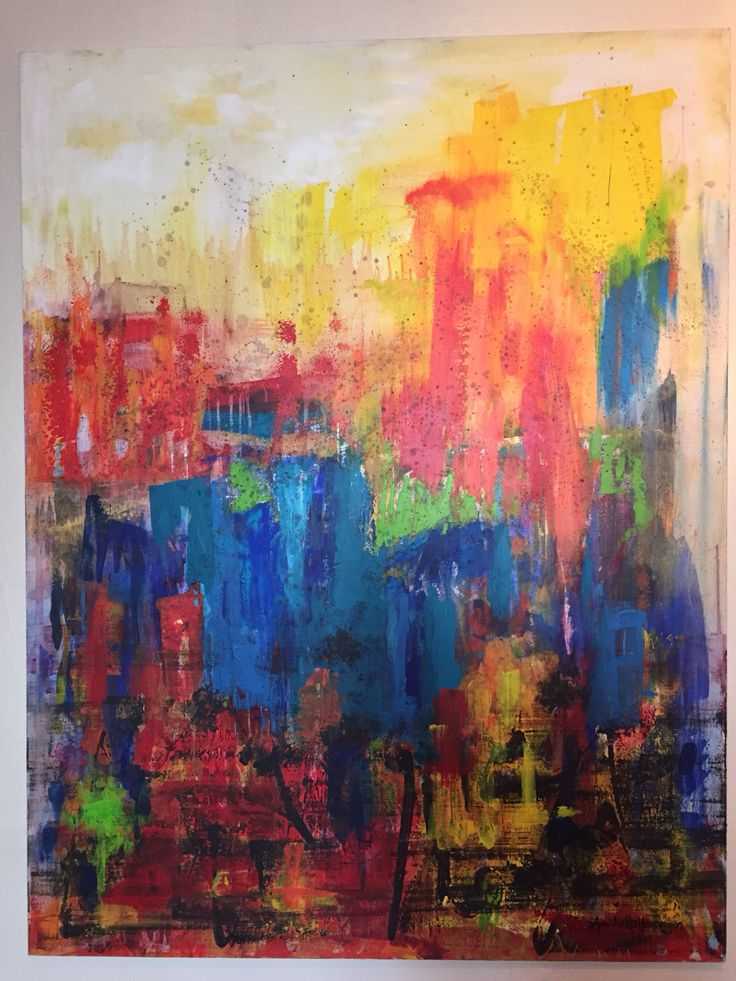 Festival | painting - Amalie Ree