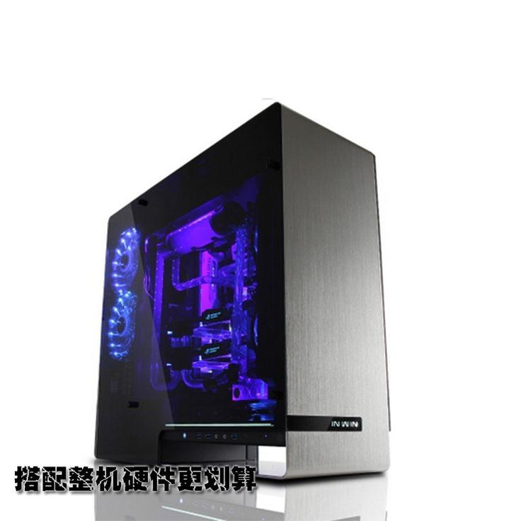 () 909 aluminium EATX Volledige Toren Volledige doorgronden Chassis/glas/USB3.1