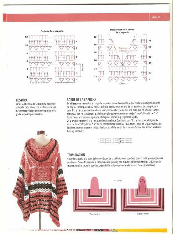 567 mejores imágenes sobre Crochet en Pinterest | Patrón gratis ...