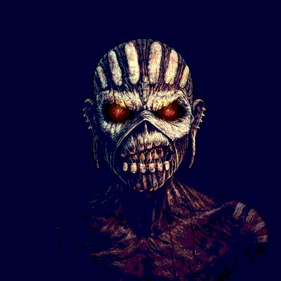 The Book of Souls | Iron Maiden  O Eddie do disco novo foi criado por Mark Wilkinson e é ligado à cultura Maia, tema que também está nas letras do álbum.