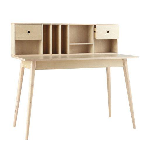 Schreibtisch im Vintage-Stil aus Holz B 120cm - Dekale
