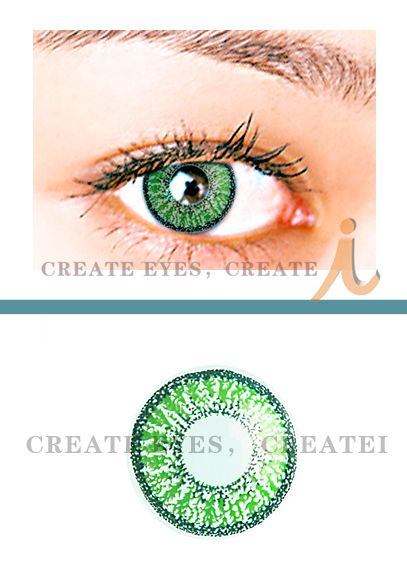 Double Green Color Contact Lens (Pair) Color Contact Lens [G2] - $22.99 : Colored Contacts, Halloween Contacts,Color Contact Lenses and Crazy Contact Lenses