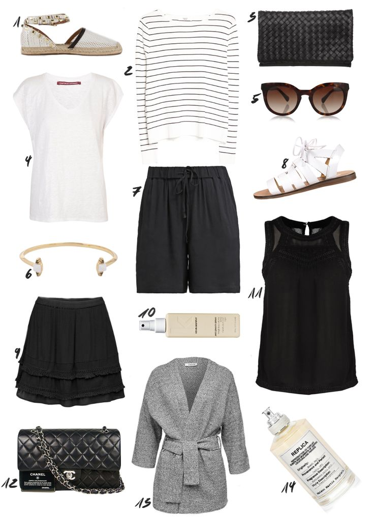 Clean and Simple Summer Capsule Wardrobe from thedashingrider.com #spring #outfit