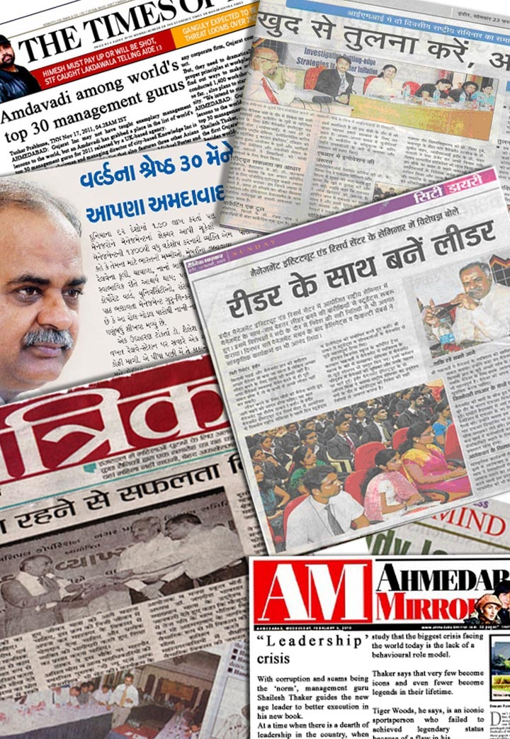 Media coverage about Dr. Thaker across the nation and globe