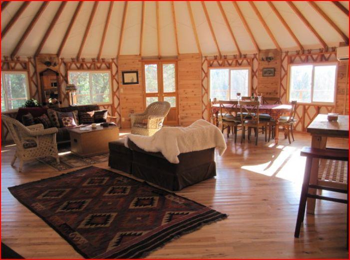 luxury River Yurts Yurts Pinterest