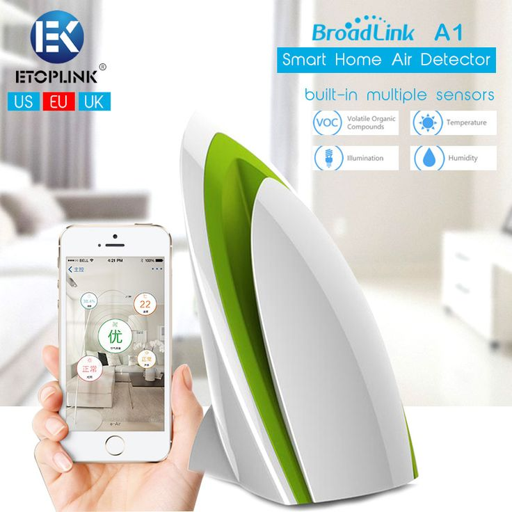 Find More Smart Home Sensor Information about BroadLink A1 White WiFi Intelligent Smart Home Air Detector Sensor Purifier Remote Control Smart Home Sensors Kit,High Quality sensor housing,China sensor mondeo Suppliers, Cheap sensor candles from Guangzhou Etoplink Co., Ltd on Aliexpress.com