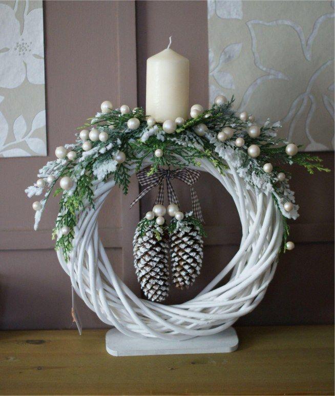 """""""I'm dreaming of a white christmas""""... 8 leuke Scandinavisch geïnspireerde witte decoratie ideetjes! - Zelfmaak ideetjes"""