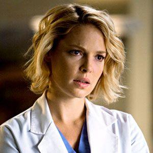 Kathryn Heigl's hair in Grey's Anatomy