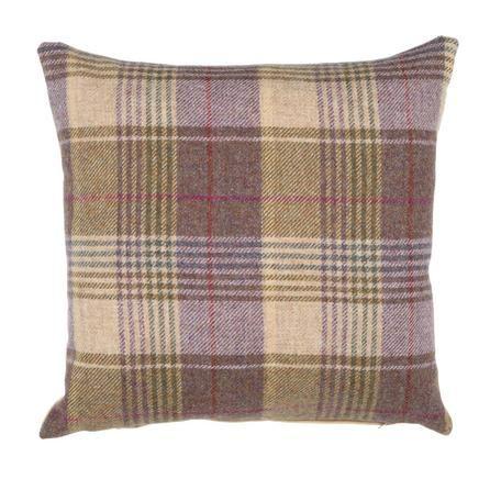 Tweed Square Cushion - Dunelm Mill £12.99
