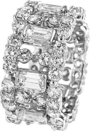 d8mart.com Flashy with no center stone- maybe good for big fingers like mine - jewellery items for ladies, best jewelry stores online,…