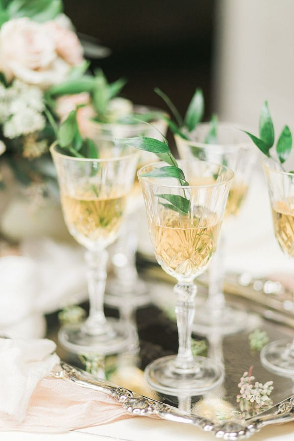 Cocktails for everyone! http://www.stylemepretty.com/2017/04/17/timeless-romance-inspiration-shoot/ Photography: Rhythm - http://www.rhythm-photography.com/