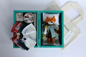 Image of Mini fox set Sanna