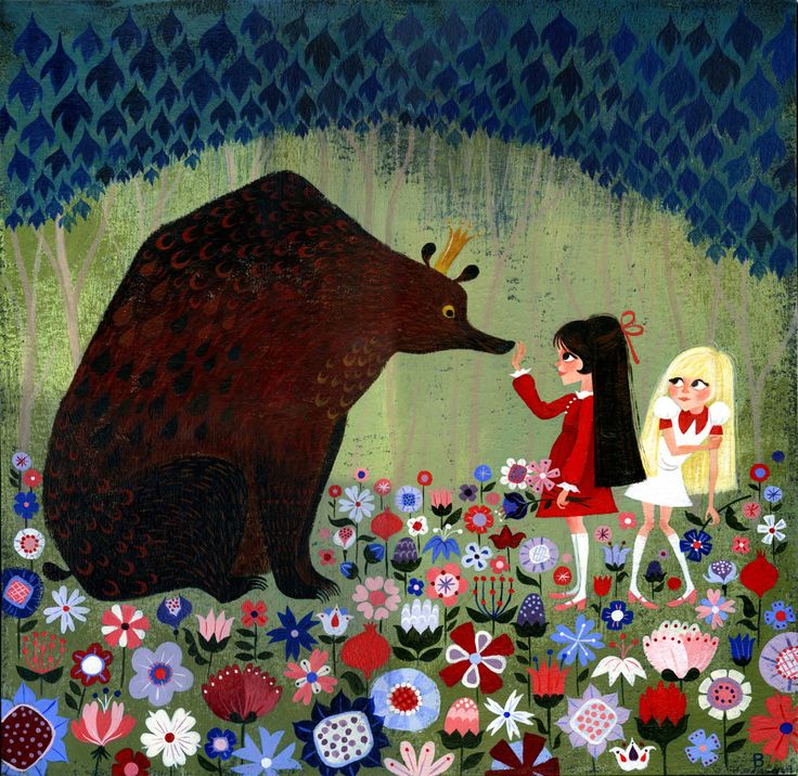 brigette barrager - Snow White and Red Rose