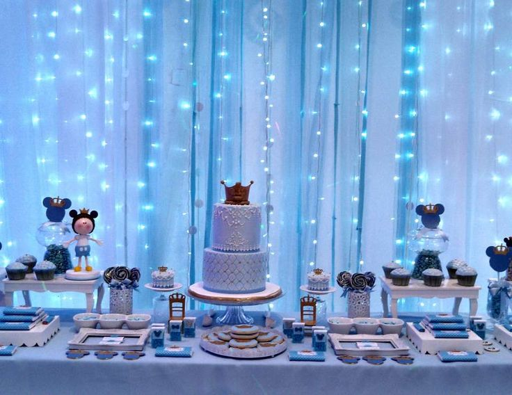"Mickey Mouse / Birthday ""Prince Mickey Party"" 