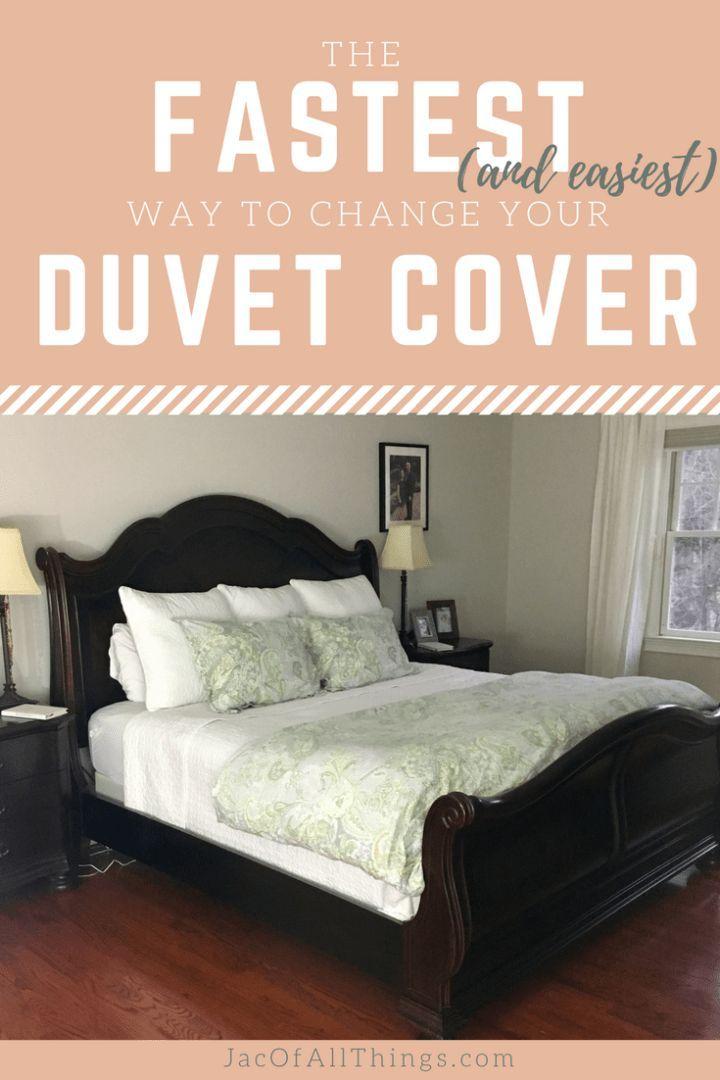 How To Change A Duvet Cover Life Hack Duvet Covers Duvet Duvet Bedding